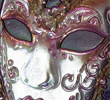 Lacquered Mask by Heather Parsons