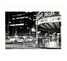 The ghosts of New York Art Print