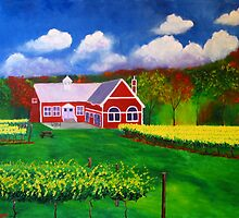 Philip Carter Winery by ArtandVino