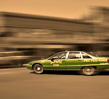 Safety Cab in Motion by AngelPhotozzz