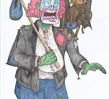 Zombie Clown by Isaac Emrick