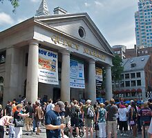 Quincy Market - August in Boston Series - © 2009 by Jack McCabe