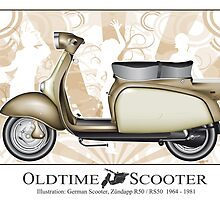 Oldtimer Scooter R50 by tattoofreak