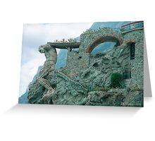 The Ruins of Neptune Greeting Card