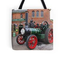 """""""Trevor"""" The Traction Engine Tote Bag"""