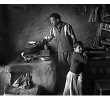FATHER & SON Photographic Print
