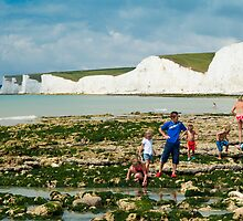 The Seven Sisters from Birling Gap: East Sussex, UK. by DonDavisUK