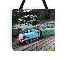 Thomas Leaves the Station  Tote Bag
