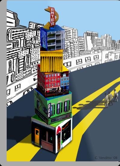 City Blocks by Carolyn Venditto