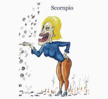 Scornpio (scorpio) t-shirt by Thomas McCliesh