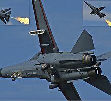 F-111 Montage by Daniel McIntosh
