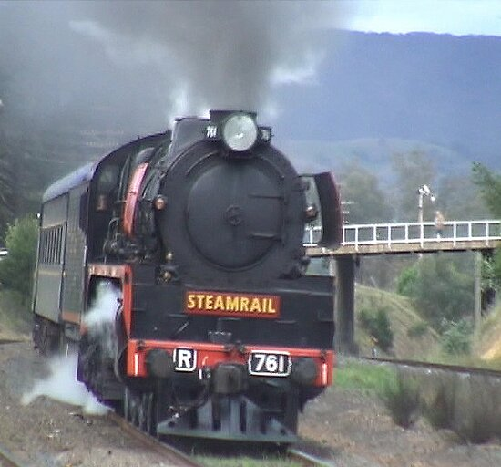 Steam excursion through town! by didjman