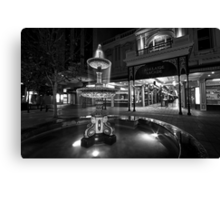 Rundle Mall Fountain Canvas Print