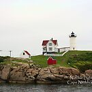 Nubble Lighthouse by MDossat