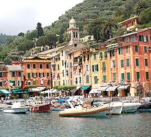 The Beauty of Portofino, Italy by Ralph Angelillo