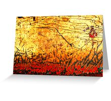 Hell Fire Greeting Card