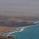 Kitsurf, windsurf and fog.... by BaZZuKa