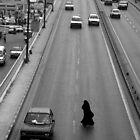 Women in Traffic by John Wreford