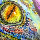Lizard Eye by BevsArtCreation