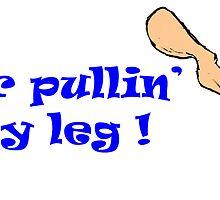 Yer pullin' my leg - temp logo ! by SNAPPYDAVE