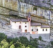 Church from the rock by paolo1955