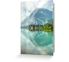 Castle and Lake of Toblino Greeting Card
