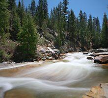 Illilouette Creek by Christophe Testi