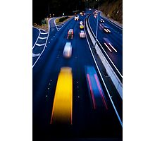 Life in the fast lane..... Photographic Print