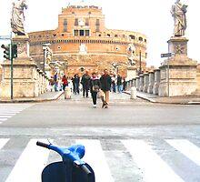 Vatican's vespa by Jouer