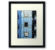 Reflections in Perth 2 - windows in windows Framed Print