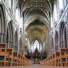 Chester Cathedral - Interior by Mike Paget