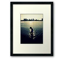Odaiba boy returns! Framed Print