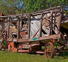 Old Farming Equipment. by Warren. A. Williams