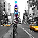 Times Square by Jeff Blanchard