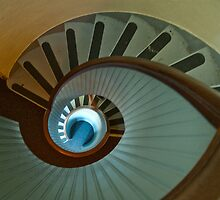 Light house stairs 2 by Leonard Flagg