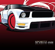 Sporty Car by melaniemj1981
