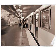 The Paris Metro Poster