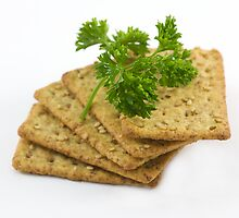 Sesame Crackers by mona1nyc