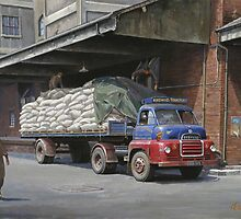 Knowles' Bedford S type by Mike Jeffries