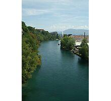 Rhône river Photographic Print