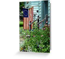 Patriotic Garden Greeting Card