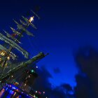 Europa Tall Ship by blueguitarman