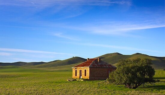 Farmhouse at Burra South Australia by Paul Pegler