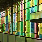 Palais des Congrès: Inside the Rainbow by Yonmei