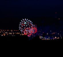 Fireworks Over Belfast by blueguitarman