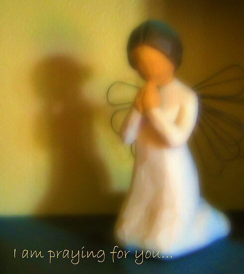 I am praying for you... by Lynn Moore