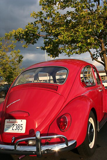 Slug Bug Red by starlitewonder