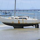 Bribie Island Boat by Rochelle Buckley