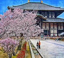 Todai-ji Temple in Nara, Japan by vadim19