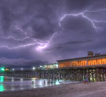 Florida Lightning Show by Phillip Mangels